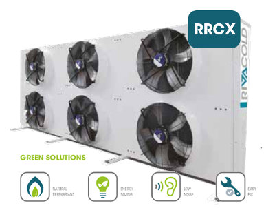 Gas cooler of the         RRCX series