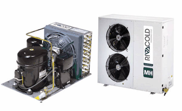 Condensing units of the MH series